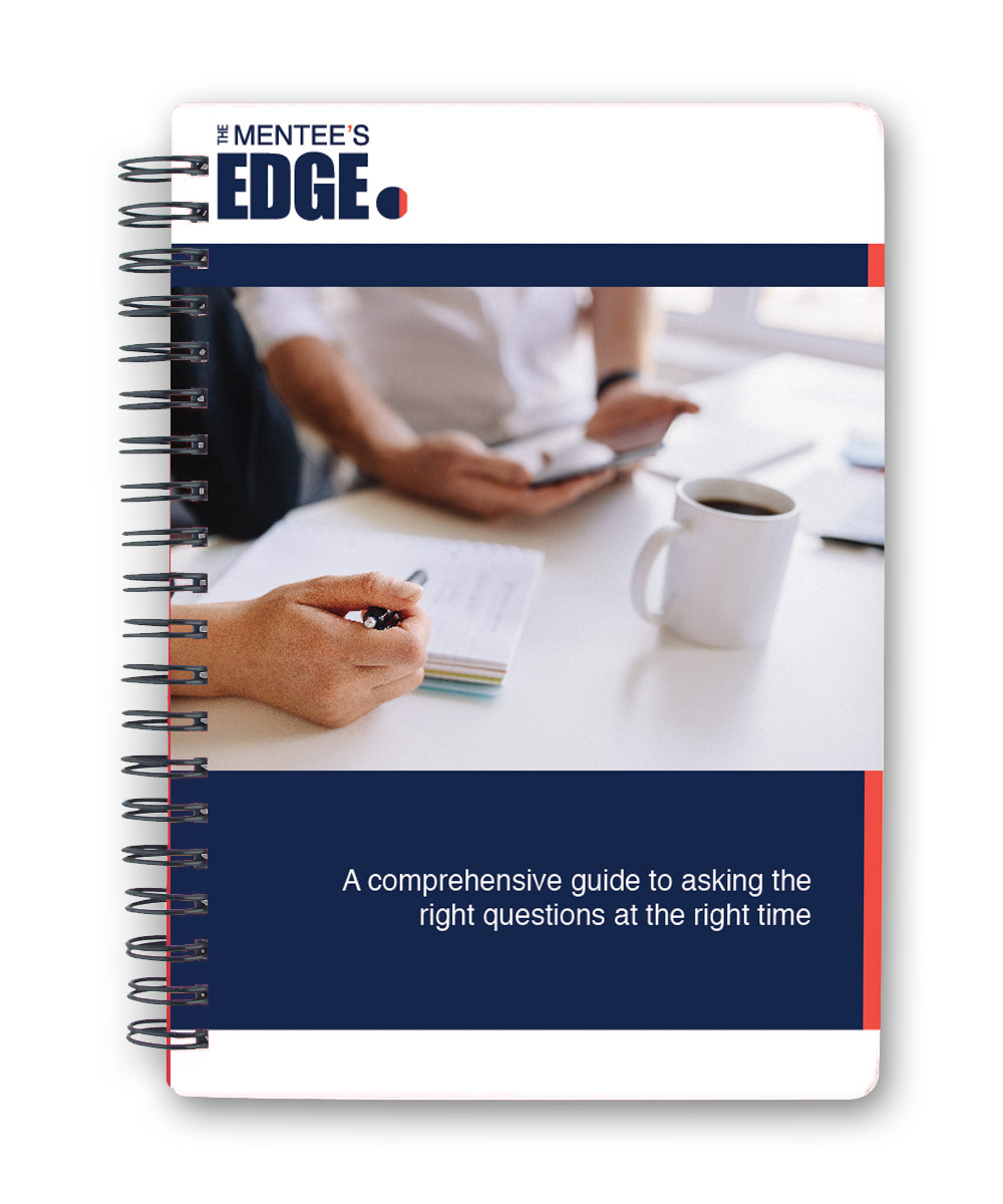Mentee edge ebook cover