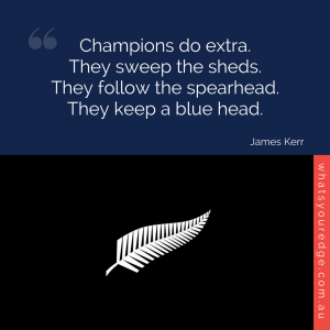 WYE Book Quote - James Kerr - all blacks