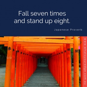 WYE Success Quote - Japanese proverb