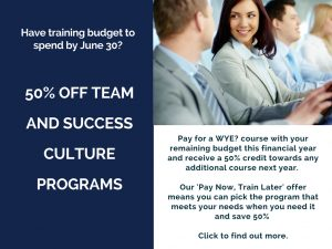 Training offer