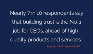 Trust stats