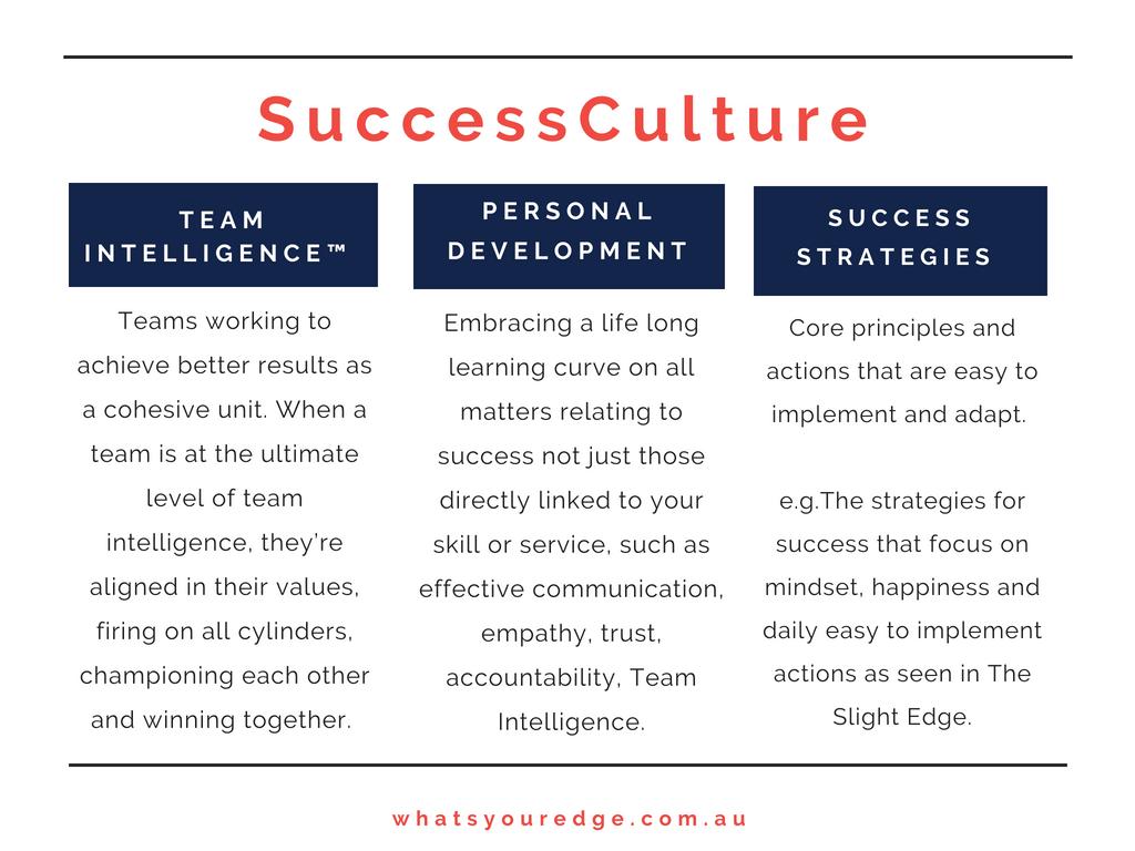 Success Culture definition