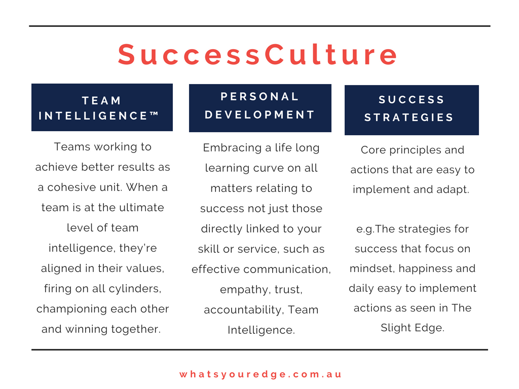Success Culture definition