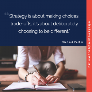 Michael Porter on strategy
