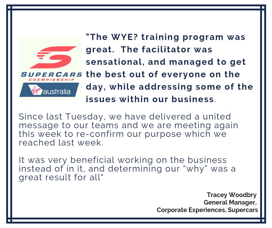 Supercars testimonial