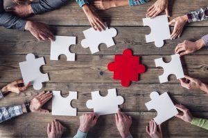 Teamwork-meeting - success culture