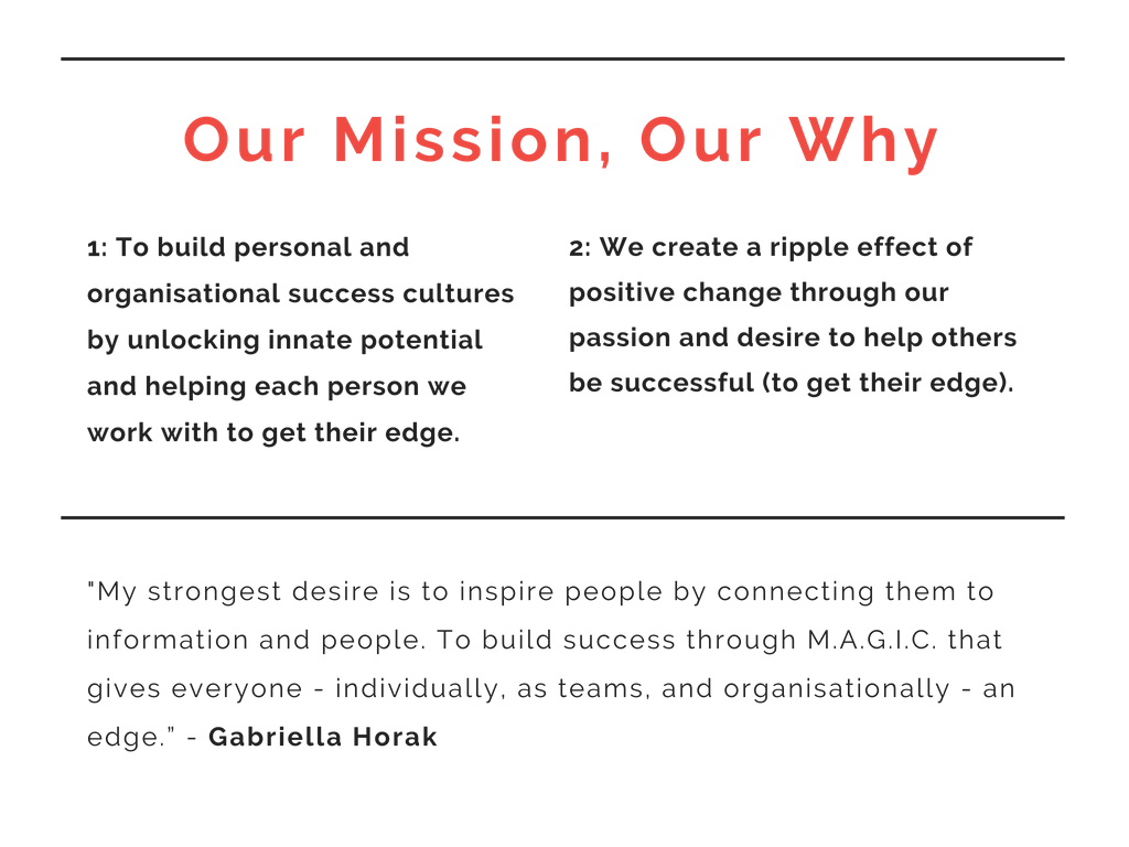 WYE Mission and Values